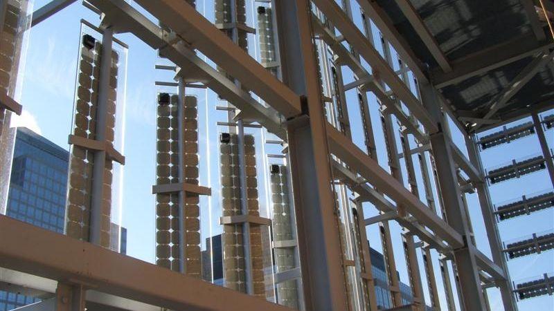 Shadovoltaic Photovoltaic Glass Louvre Colt Singapore